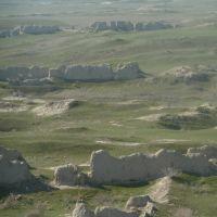 Ruins of Abiverd near Kaka (XI-XVII c. AC), Каахка