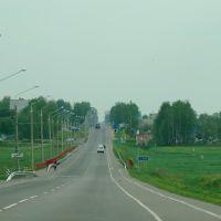 Могилёвское шоссе. Мост через р. Ола, Кировск