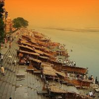 Naya Ghat, Saryu River, Ayodhya : Photo Hemant Shesh, Кара-Кала