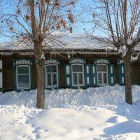 Casa tradizionale Baskira - Russia, Уфра