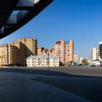 Уфа, площадь вокруг Ледового Дворца, Уфра
