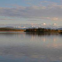 Aldan river. Near Chagda., Чагыл
