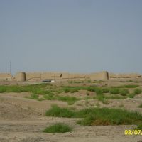 ancient wall of the city. древняя стена города, Байрам-Али