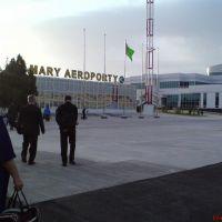 Аэропорт г. Мары, Захмет