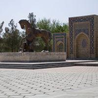 2008/04. Памятник Молланепесу, Мары