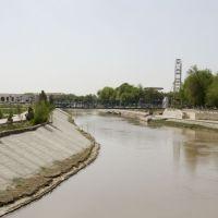 2008/04. Вид с моста на Ленинский парк, Мары