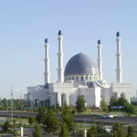 Mosque in Mary, Turkmenistan, Мары