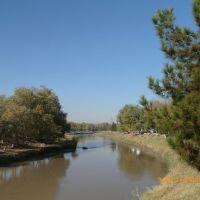 Мары, набережная реки Мургаб, Мары