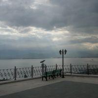 Tarihi orhan camiinin bahçesinden deniz manzarası, Измит