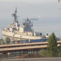 railroad line & museum warship   kyg*, Измит