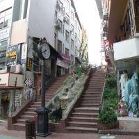 Fethiye caddesi havuzlu merdivenler ve saat, Измит
