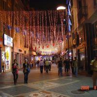 Bir çarşıda gece görünümü, Trabzon, Трабзон