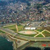 Gelişen  Trabzonun kıyı kesimi-Developing coastal population of Trabzon, Трабзон