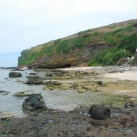 Cliffs, beaches and benches in Ly Son Island, Vietnam, Кан-То