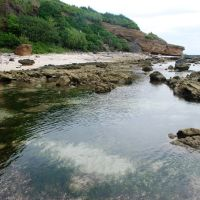Cliffs, beaches and benches in the Lý Sơn Island, Vietnam, Кан-То