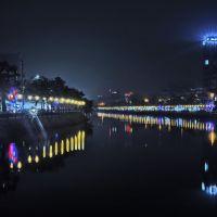 Tam-Bac Lake By Night, Хайфон