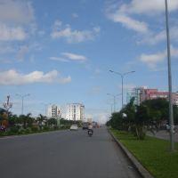 Đường Lê Hồng Phong khu đô thị ngã 5 sân bay Cát bi Hải phòng, Хайфон