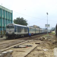 Da Nang, railway station, Nov. 2007, Дананг