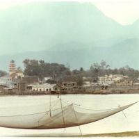 Da Nang across Han River, 1967, Дананг