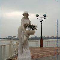 Cô gái và chậu hoa, Дананг