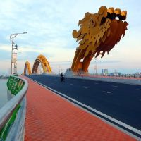 Một sáng Cầu Rồng - Dragon Bridge in the morning, Дананг