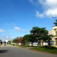 Đường phố thị trấn Duyên Hải, Нячанг