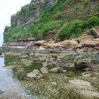 Đống đổ lở do trọng lực ở bờ biển Lý Sơn, Винь