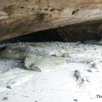 Hốc sóng vỗ và đá kết bãi (beach-rock) ở rìa Bắc đảo Lý Sơn, Винь