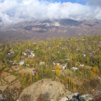 Above Arslanbob, Kyrgyzstan, Алтынкуль
