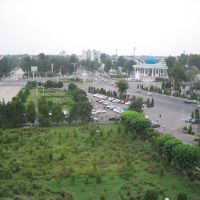 View from Governors Office, Андижан