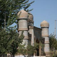 Yangy-Nookat, mosque, Балыкчи