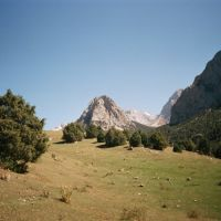 Kyrgyz-Ata, track to Kum-Bel pass, Балыкчи