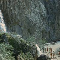 Abshir-Say Waterfall. Водопад Абшир-Сай., Балыкчи