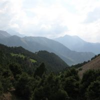Ak-Tuya ravine, track to Altyn-Beshik pass, Балыкчи