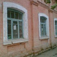 Торец бывшей школы №1 с Селе Русском (изначально- церковно-приходская школа), Мархамат