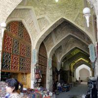 "Bukhara - ""Hatter market"" (Tak-i-Telpak furushan), Бухара"