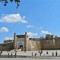 La citadelle ou Ark, résidence royale, création ouzbèque du XVIII ème siècle, origine du VI ème siècle, Бухара
