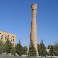 Vabkent le minaret, Вабкент