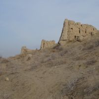 Ancient Paykend near Dzhanafar Uzbekistan, Газли