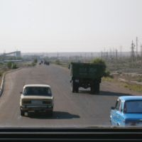 Road to Bukhara (off Khiva), Газли