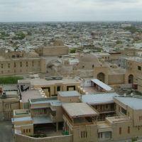 Vistas desde el Minarete Kalon, Bujara, Uzbekistán, Галаасия