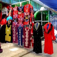 Buchara Mashrutka Stand Bazaar, Галаасия