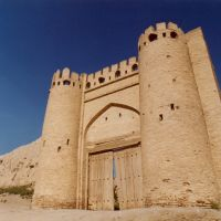 City gate Talipoch in Bukhara, Галаасия