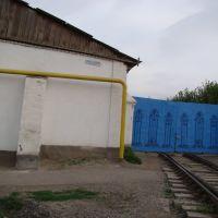 Ж/Д въезд на заготзерно, Каган
