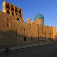 Morning of Madrasah Mir-i-Arab , Bukhara, Каракуль