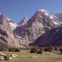 Dans la vallée de Sarykhodan, Заамин