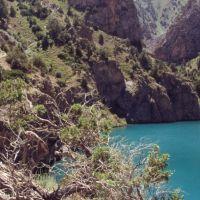 Le lac de Ptchikoul, Усмат