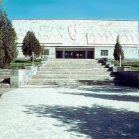 1985.04. - Szamarkand, history muzeum, Усмат