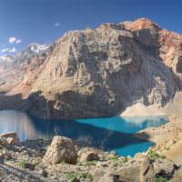 Bolshoe Allo lake, Усмат