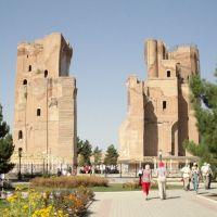 Timurs White Palace (Shahrisabz, Uzbekistan), Усмат